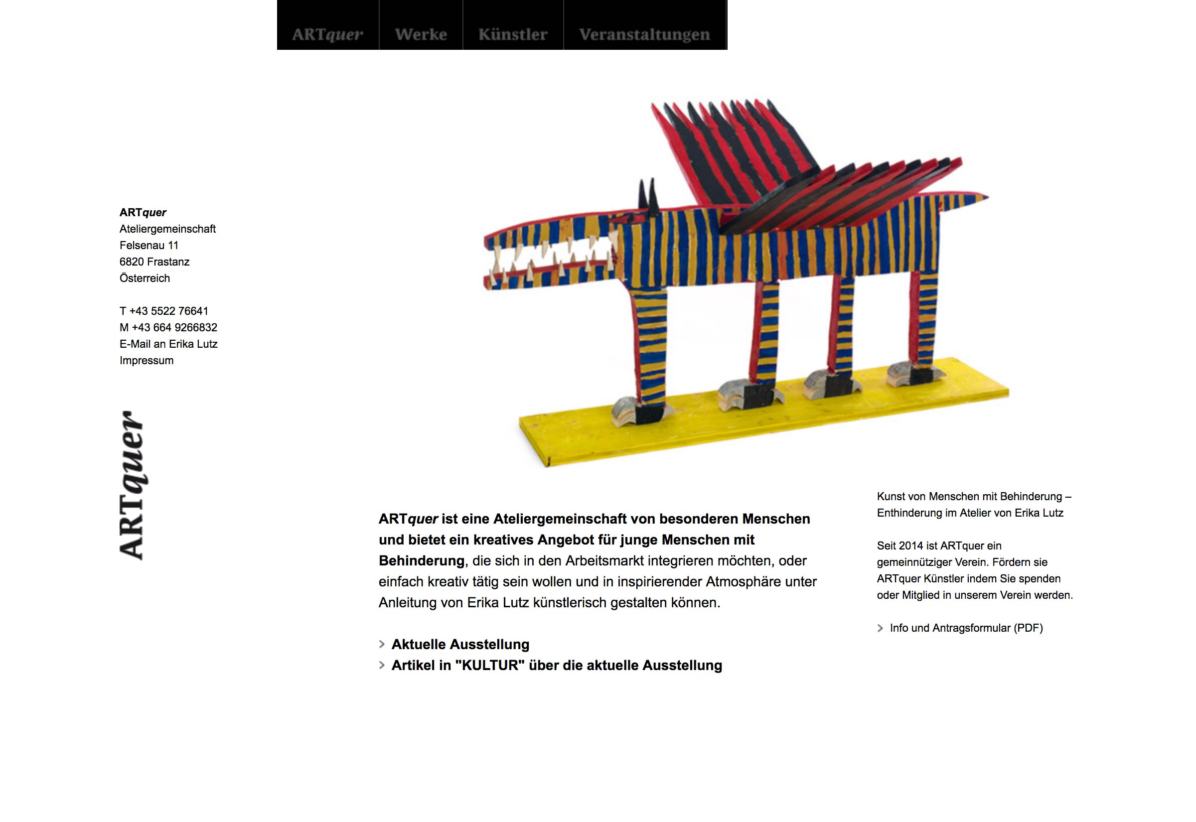 Website ARTquer