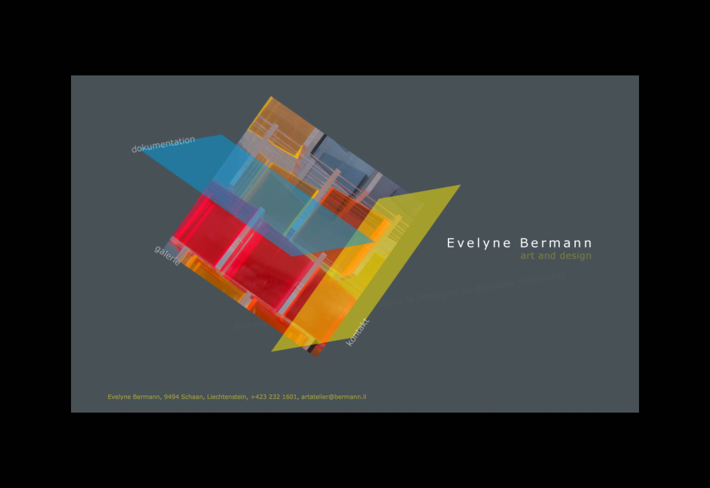 Website Bermann Evelyne