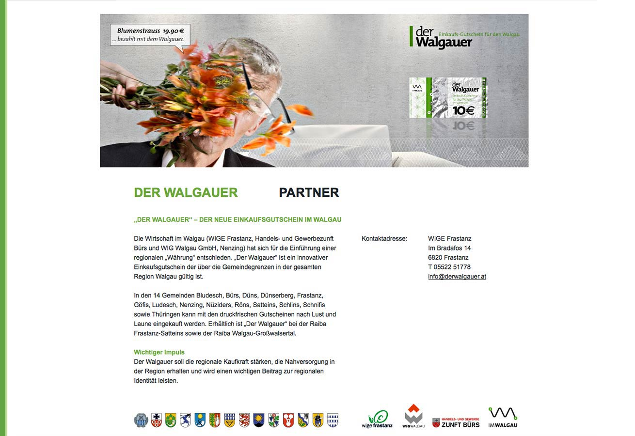 Website derWalgauer