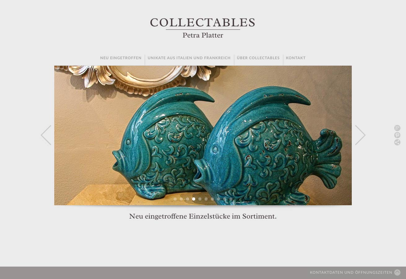 Website COLLECTABLES
