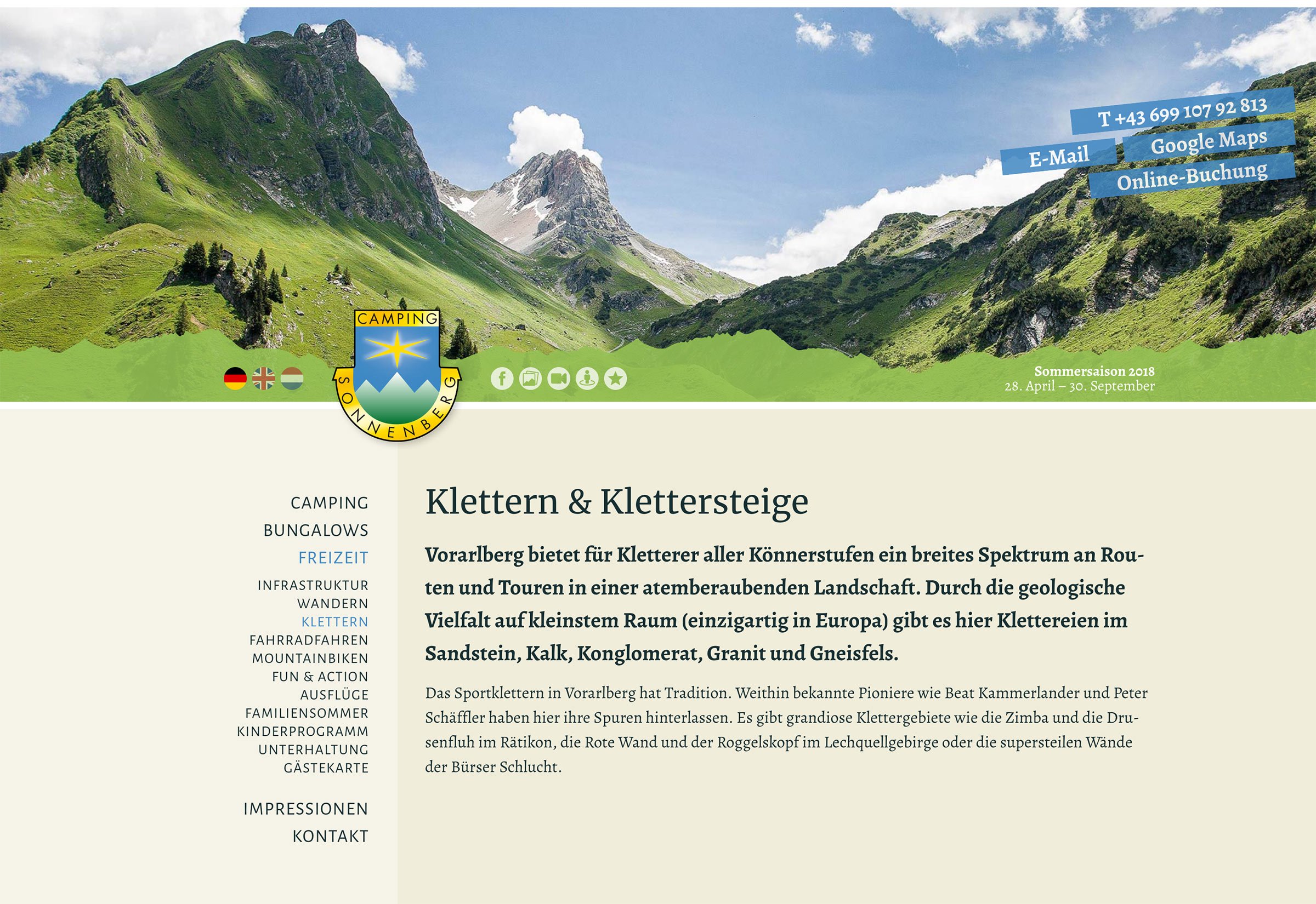 Website Camping Sonnenberg
