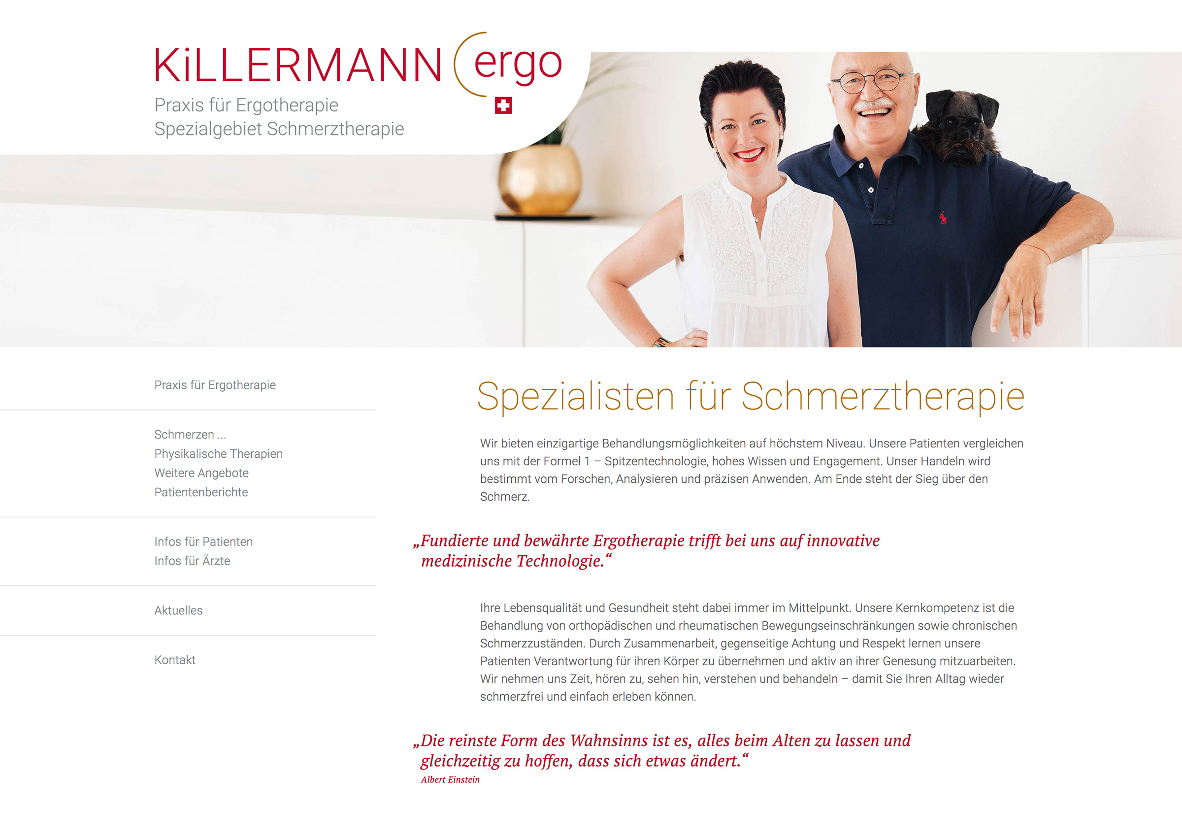 Website KiLLERMANN-ergo